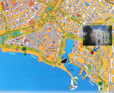 Nice Rental apartments in Nice Old Port district for rent with free